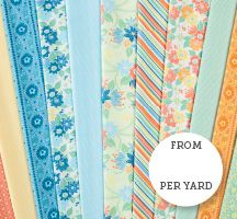 Somer's Garden is a bright and fun new collection by Winthur Sempliner for Connecting Threads