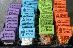 Cute goody bag idea for halloween