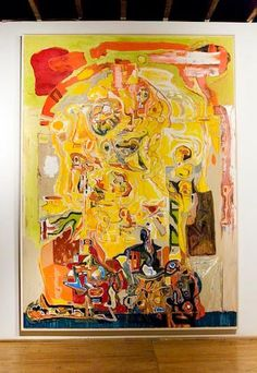 Harold Klunder works on single paintings for years at a time and in so doing they become invested with a palpable sense of lived experience and vivid evidence of his effort to give shape to consciousness itself.