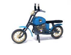 Мотоцикл | biser.info - всё о бисере и бисерном творчестве
