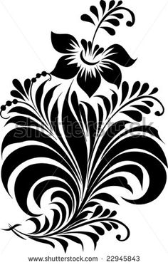 Find Vector Russian Traditional Ornament Hohloma stock images in HD and millions of other royalty-free stock photos, illustrations and vectors in the Shutterstock collection. Stencil Patterns, Stencil Designs, Stencil Painting, Silk Painting, Motifs Islamiques, Fabric Paint Designs, Calligraphy Drawing, Ornaments Design, Motif Floral