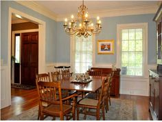 Perfect dining room for family dinners #CharlestonSCRealEstate