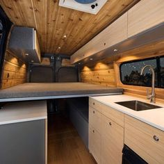 Follow our current van conversion project in partnership with @RawCalifornia!