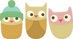 Free SVG File – Sure Cuts A Lot – 02.04.12 – Cute Owls