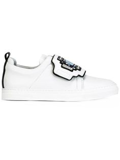 PIERRE HARDY Thick Velcro Strap Sneakers. #pierrehardy #shoes #sneakers