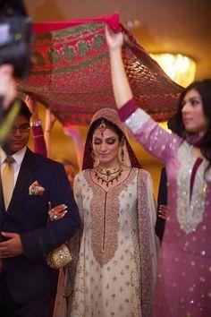love this tradition... Pakistani wedding