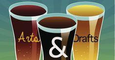 Arts & Drafts Fundraiser - Arts All Around - InsideColumbia.net Fundraisers, Pint Glass, Beer, Mugs, Tableware, Art, Root Beer, Art Background, Ale