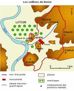 Cours de Histoire-géographie 6e - Rome, sa fondation et son expansion - Maxicours.com