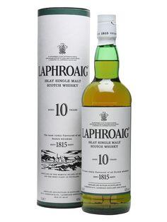 Laphroaig 10 (20th Review) #scotch #whisky #whiskey #malt #singlemalt #Scotland #cigars