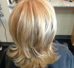 67 ideas for hair updos shoulder length midlength Blonde Haircuts, Bob Hairstyles For Fine Hair, Cool Hairstyles, Bob Haircuts, Haircuts For Medium Length Hair, Medium Hair Styles, Short Hair Styles, Thin Hair Cuts, Long To Short Hair