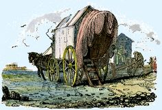 Bathing machines, also called bathing wagons, are what allowed our modest ancestors access to our oceans. 1800's
