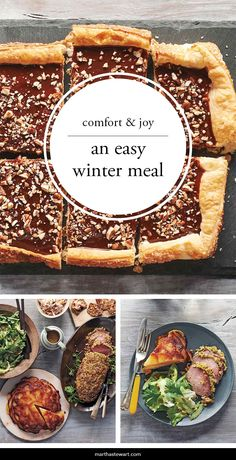 Every cook needs one perfect winter meal in her repetoire. It should be lavish enough for a special occasion yet easy to prepare. This menu hits all the marks. Beef tenderloin is simple to roast whole; Potatoes Anna is equally elegant; a bright salad adds crunch; and a make-ahead tart closes out dinner in style.