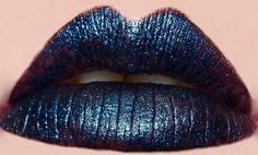DEEP Dark Blue Lipstick