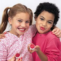 DIY Lip gloss for kids