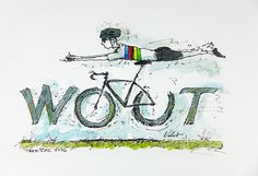 Rainbows in Wisconsin! | Wout is the sound a speeding bicycle makes when it passes you on the course!