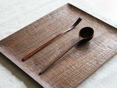 Black Walnut Tray by Yusuke Tazawa