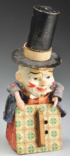 toys in the attic by Jeanie Holland ~~ Image Wonderful Jack-in-the-Box Musical Accordion Piece Jack In The Box, Antique Toys, Vintage Antiques, Vintage Items, Creepy Vintage, Vintage Halloween, Toys In The Attic, Tin Toys, Doll Toys