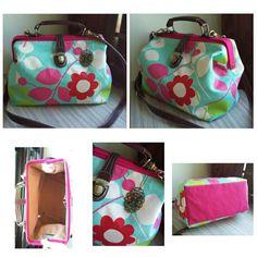 Colourful Garden Doctor Frame Bag