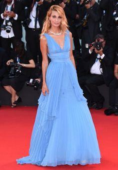 #svevaalviti blue dress venice film festival 2014  #Venice Film Festival Dresses #Venice Film Festival Dresses2016 #beautifulVenice Film Festival Dresses