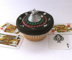 Roulette Wheel Cupcake