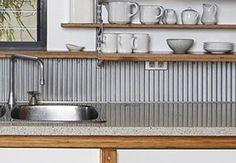 Mini Orb kitchen splashback