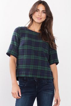 #Esprit blouse met geruit dessin #ruit #geruit #ruitjes #checkered #fashion #fall16 #winter17
