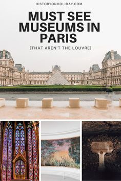 There are so many amazing museums and historic sites in Paris that aren't as crowded, busy, or MASSIVE as the Louvre. Check out my tips to see art, history, science, and culture museums in Paris!