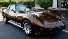 1978 mauve corvette