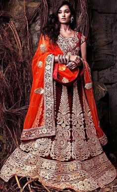 Many fashionable lehengas are there that could beautify a lady in a different way. This attire could enhance the look of a bride on her wedding. This is also available on rent these days that too from a rental classified website named Rent2cash.