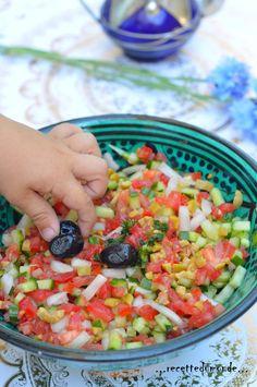 Salade fraîcheur à l'Oriental - recette ramadan