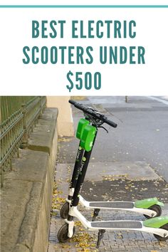 Top 7 Best under $500 Electric Scooters For Adults – Buying Guide 2020 Electric scooters have become all the rage lately as an easy way to get around town. There are many options available. Let's look at the top-rated, under $500 adult electric scooters available today. They are convenient, easy to store and fun to ride around on. They save a lot of carbon emissions verse driving a car. Parking becomes a nonissue.  #escooter #scooter #electricscooter #sustainable #masstransit #greenliving #bev Cheap Electric Scooters, Best Electric Scooter, E Scooter, Car Parking, Top Rated, Rage, Biodegradable Products, Outdoor Power Equipment, Sustainability