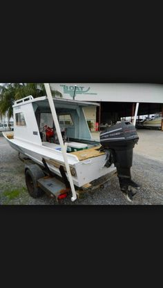Image result for used metal cabin enclosure for jon boat | lonestar cabin cruiser | Pinterest ...