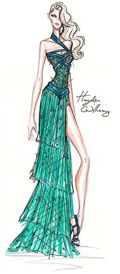 hayden williams haute couture fw 2011-2012 . haydenwilliamsillustrations.tumblr.com