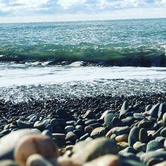 Чёрное море в Сочи осенью