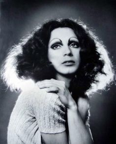 Holly came from Miami FLA (holly woodlawn)