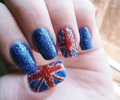 Nail Art  Glittery Nails  How to do French manicure   Nails   Chic Factor Gazette