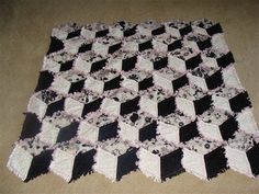 64 Best Tumbling Blocks Quilt Images Geometric Coloring