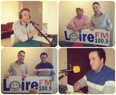 Florent Thollot et Jonathan Mothe sur Loire FM jeudi 5 Novembre 18 h 00.