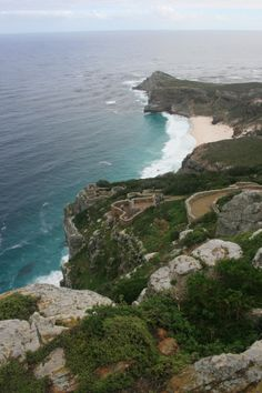 Cape Point - scenic lookout Point in Cape Town, South Africa Take Your Time, Nature Reserve, Cape Town, Wonderful Places, Places Ive Been, South Africa, Water, Outdoor, Beautiful
