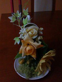 Chávena de  flores