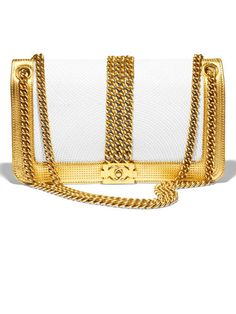 Love this bag!!!  Fall Must-Haves - Gold Jewelry and Accessories for October 2012 - Harper's BAZAAR