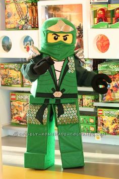 Coolest Lego Ninjago Homemade Halloween Costume ... This website is the Pinterest of costumes