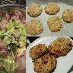 Pieczone kotlety z indyka... Muffin, Meat, Chicken, Breakfast, Food, Morning Coffee, Essen, Muffins, Meals