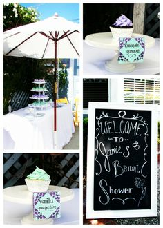 Country Chic Bridal Shower | Country Chic Bridal Shower- Custom Cupcakes and ... | crafty ideas