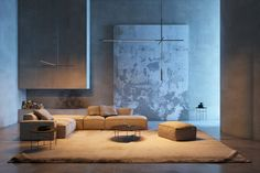 Bybeau's XYZ lighting collection was informed by coordinates.