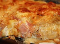 """Homemade Ham and Scalloped Potatoes """"I tried your recipe today, and my Ham and Scalloped Potatoes turned out delicious! Loved the hint on the cheese - it makes a huge difference. Thank you for sharing this recipe. Scalloped Potatoes And Ham, Homemade Ham, Pork Chops And Potatoes, Twice Baked Potatoes Casserole, Best Casseroles, Easy Casserole Recipes, Potato Recipes, Sausage Gravy, Food To Make"""