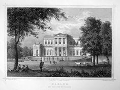 Haarlem-Paviljoen Welgelegen | Herkomst : J.L. Terwen - Het Koningrijk der Nederlanden, afm. 14 x 20 cm Staalgravure 1860