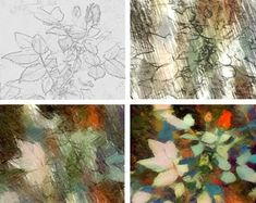 7 DIY Garden Rose Artists' Sketches - Create your own easy artwork with pencils, watercolors, paints or pastels. Diy Art Painting, Learn To Paint, Pastel Art, Sketches, Beautiful Artwork, Abstract Painting, Painting, Painting Patterns, Rose Sketch