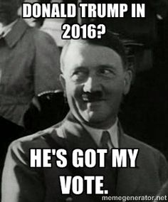 A photo found on Google Images indicates Hitler himself may have been a fan of the Donald