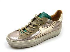 Airstep 135105 old sneaker - goud
